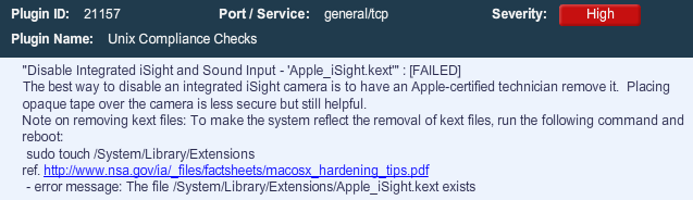 Hardening OS X Using The NSA Guidelines - Blog | Tenable®