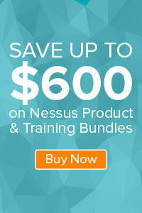 Save Up to $800 on Nessus Auditor Bundles